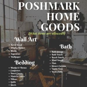 POSHMARK HOME GOODS